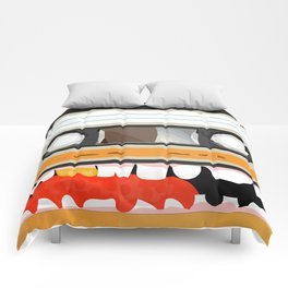 The cassette tape golden tooth Comforters