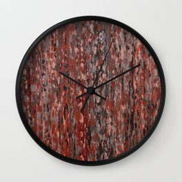 Lorne Splatter #4 Wall Clock