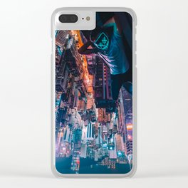 014 - Just Hangin' out Clear iPhone Case