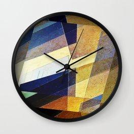 Marble Mosaic Wall Clock