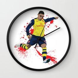 Alex Oxlade Chamberlain - Arsenal FC Wall Clock