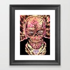 Señor Muerte Framed Art Print