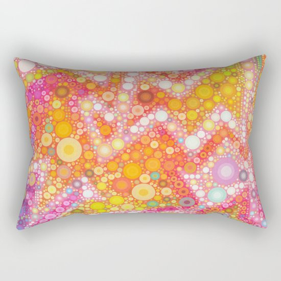Sunshine Bubbles Rectangular Pillow