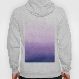 Purple watercolor texture Hoody