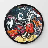 deadmau5 Wall Clocks featuring Mickey Mau5 by Matt Pecson