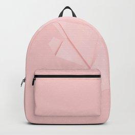 White origami pig Backpack