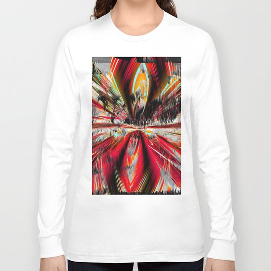 stormy weather in autumn Long Sleeve T-shirt