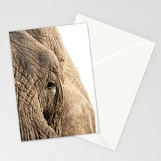 Elephant, into the wild. Stationery Cards