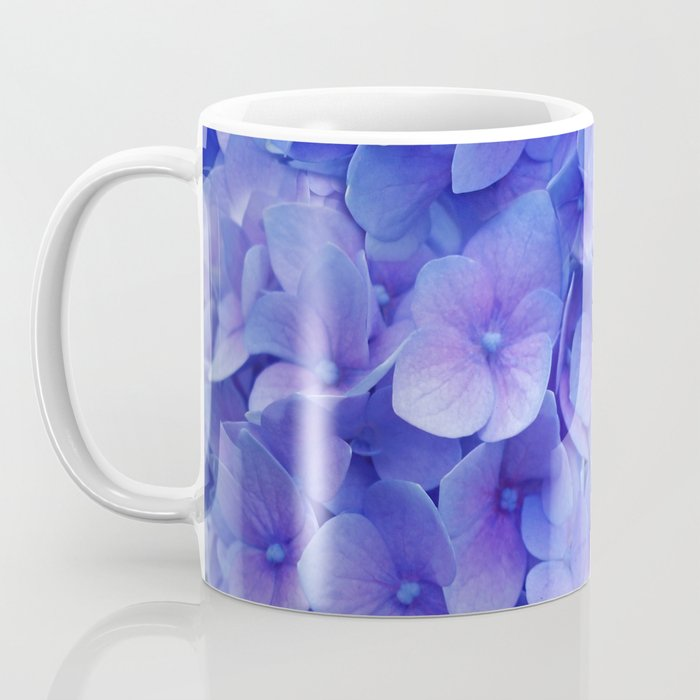 Hydrangea blue Coffee Mug