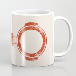 Bottomless Portafilter // Barista Espresso Machine Coffee Shop Humor Graphic Design Coffee Mug