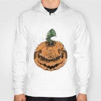 pumpkin Hoodies featuring Pumpkin by Kape