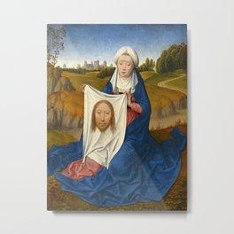 "Hans Memling ""Saint Veronica"" Metal Print"