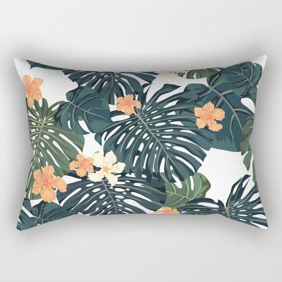 Tropical retro Rectangular Pillow