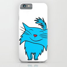 Happy Blue Cat iPhone 6s Slim Case