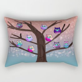 owl-76 Rectangular Pillow