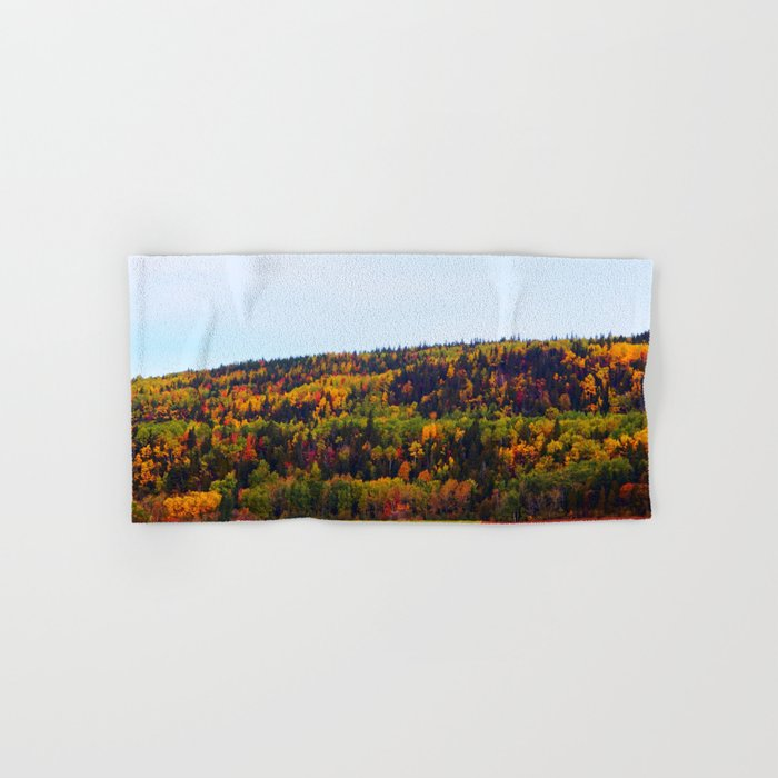 Fall Harvest and the Hills Hand & Bath Towel