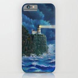 Split Rock Lighthouse, Duluth, MN iPhone Case