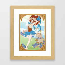 Zodiaque - Bélier (Aries) Framed Art Print