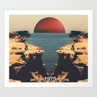 1975 Art Prints featuring 1975 by RICCARDO CAPPELLUTI