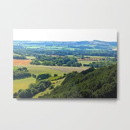 The Meon Valley Metal Print