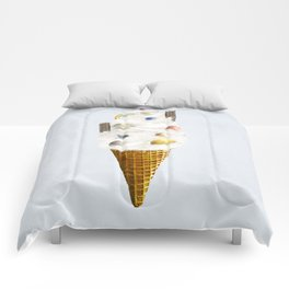 galaxy cone Comforters