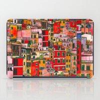 italy iPad Cases featuring Manarola, Italy  by Marcella Wylie