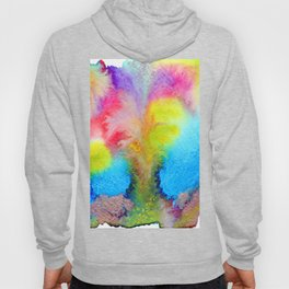 Surreal Volcano That Erupts Colored Lava Hoody