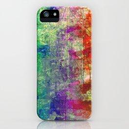 Tree Glitch iPhone Case