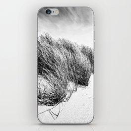 Sea and Sand, Kellogg Beach Dunes, Crescent City, Del Norte, California iPhone Skin