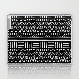 Mud Cloth on Black Laptop & iPad Skin