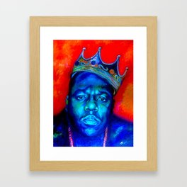 """Biggie Smalls"" Framed Art Print"