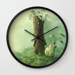 Plant Folk Wall Clock