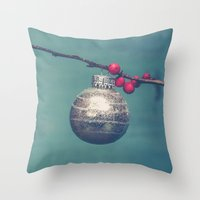 sparkle Throw Pillows featuring Sparkle by Olivia Joy StClaire