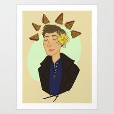Dean Secretly Feels Pretty Art Print