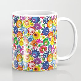 Folk - garden XL Coffee Mug