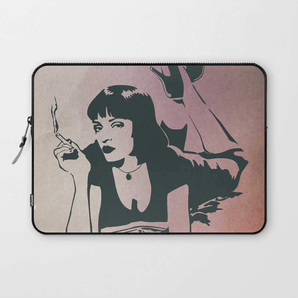 Pulp Fiction, Mia Wallace Laptop Sleeve LSV7797719