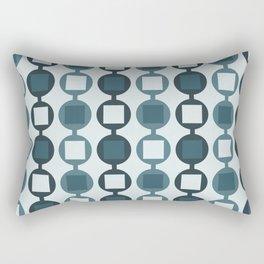 Beads Pattern - Pastel Teal Rectangular Pillow