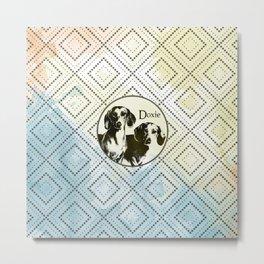 Dachshund dog  - Doxie Metal Print