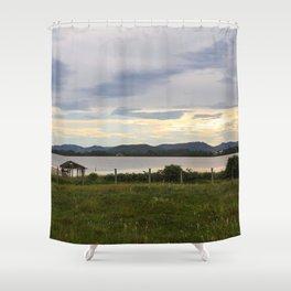 Rosa Sunset  Shower Curtain