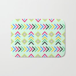 Colorful arrow pattern Bath Mat