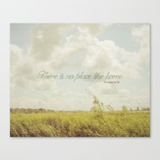 There is no place like home -The Wizard Of OZ Canvas Print
