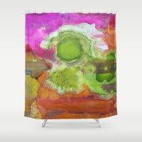 safari Shower Curtains featuring Safari by Heather Plewes Art
