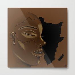 Mama Africa Metal Print