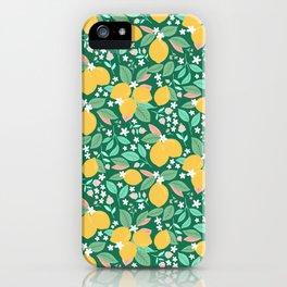 Spring Lemons iPhone Case