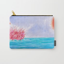 Sunrise over the sea Carry-All Pouch