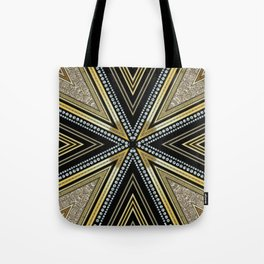 Glam Cross Star Tote Bag