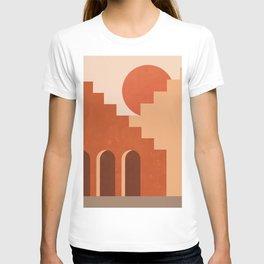 Abstraction_SUN_Architecture_ART_Minimalism_001 T-shirt