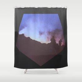 Etna BW2 1983 Shower Curtain