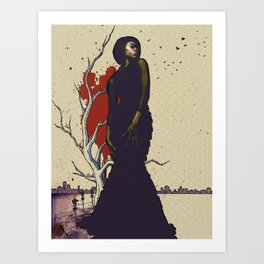 Dreaming of Revelry v.2  Art Print