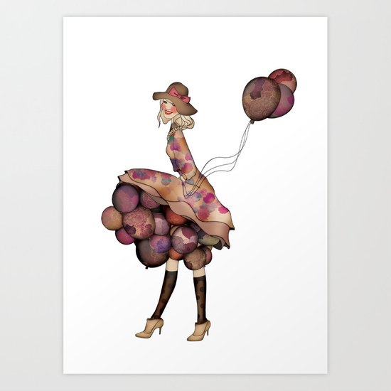 Le Ballon // Birthday II Art Print